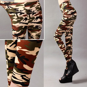 Army Camouflage Leggings